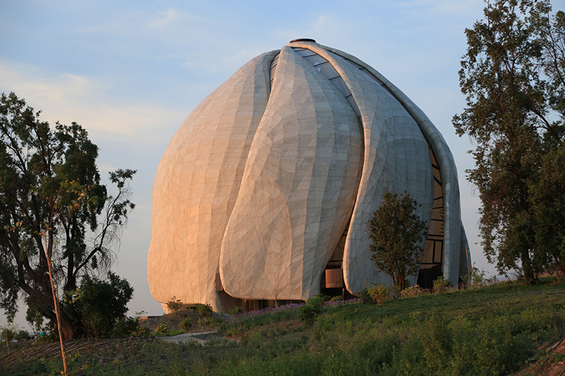 bah temple of south america by hariri pontarini architects