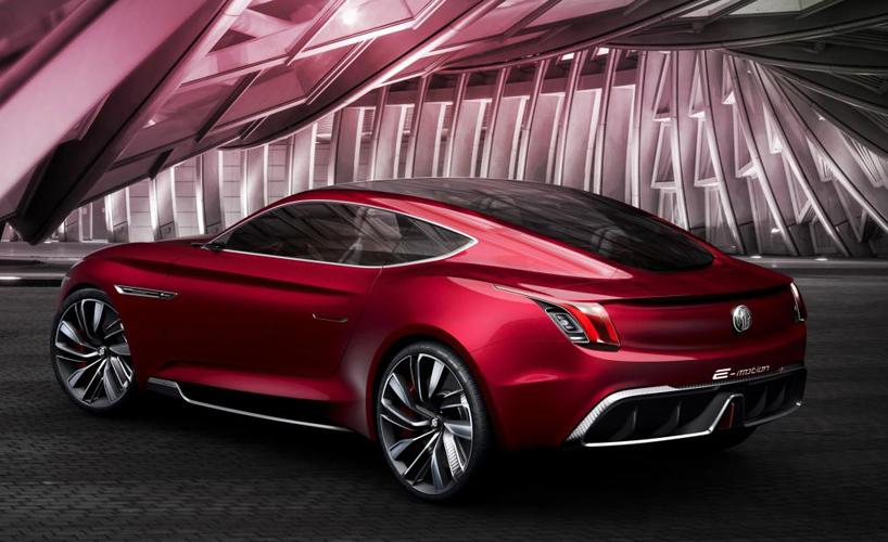 Mg Motor E Vision Electric Concept Supercar Enters