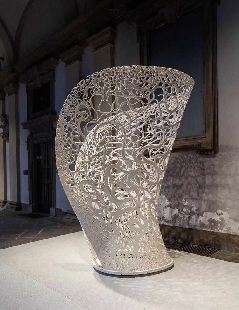 zaha hadid architects 3D prints thallus experimental