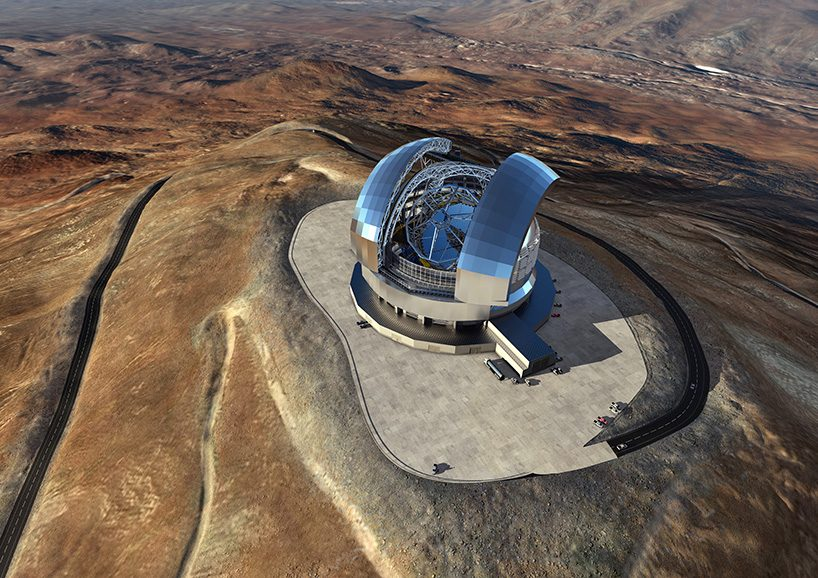 construction begins on extremely large telescope in