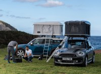 autohome designs a roof tent for the MINI countryman