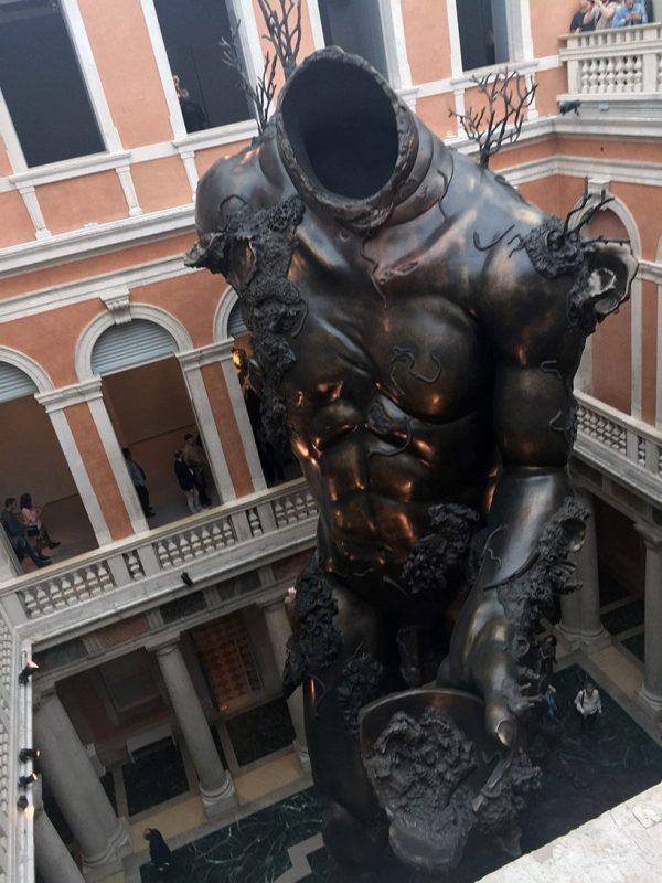 Damien Hirst' Venice Underwater Fantasy Exhibition