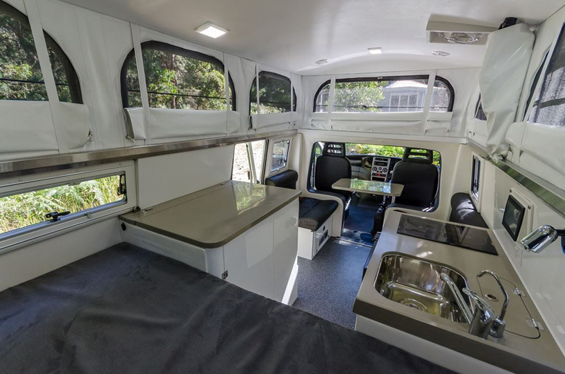 earthcruisers EXP expedition vehicle grows at the push of a button