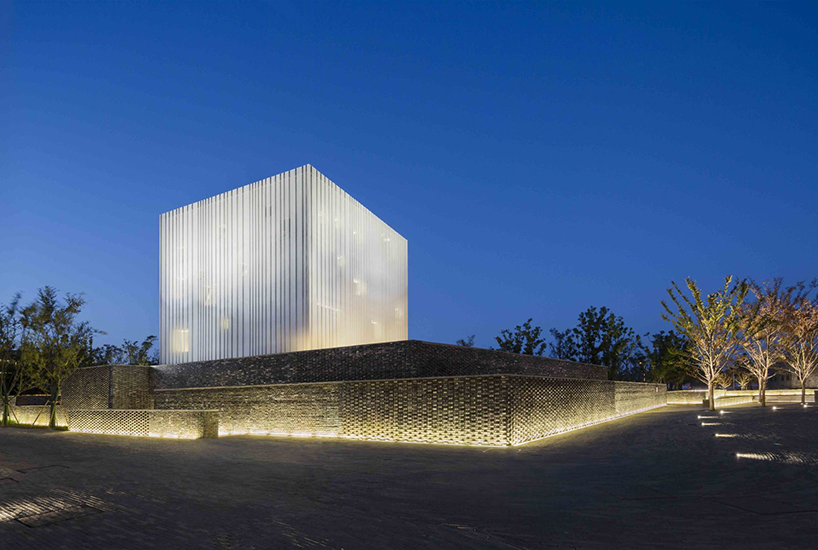 neri  hu completes suzhou chapel as a floating white box in china