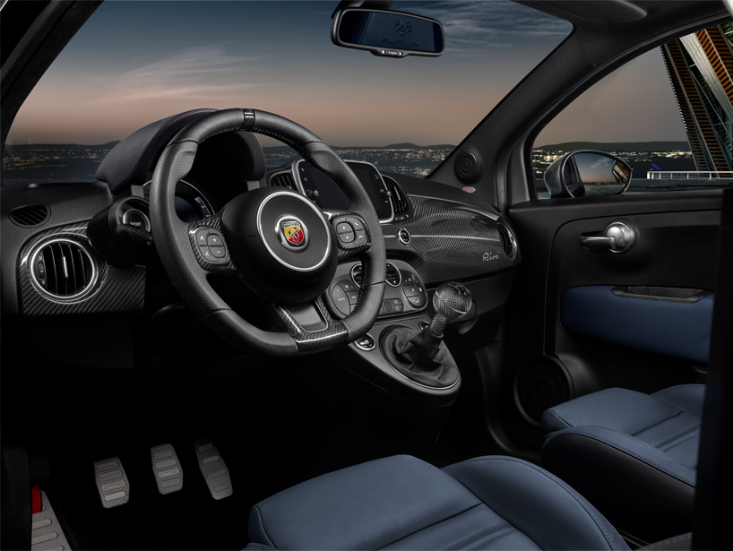Abarth 695 Rivale Pays Tribute To Riva Yachts 175 Year