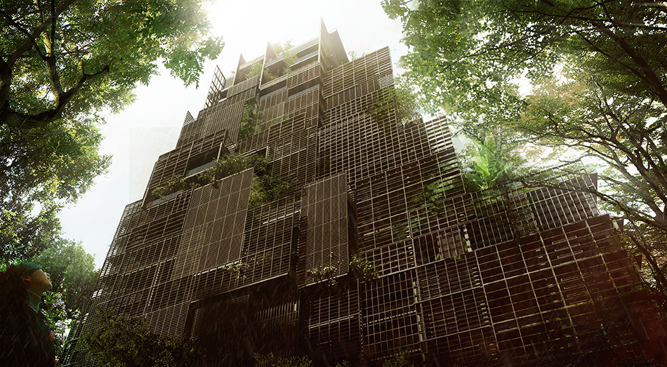 jean nouvel plans to populate são paulo's rosewood tower