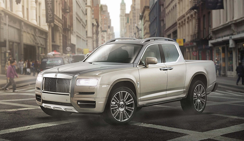 Luxury Pickup Trucks Imagine Rolls Royce Bentley And
