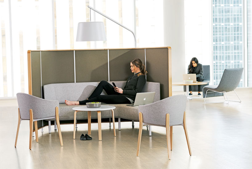 Pearsonlloyd Expands Teknion Zones Furniture Series At