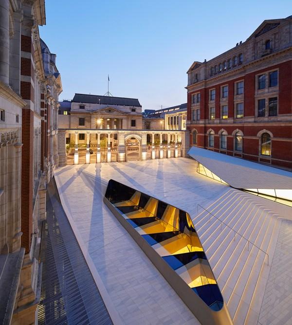 Victoria and Albert Museum Courtyard