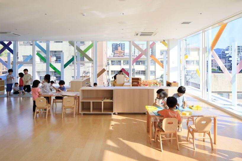 emmanuelle moureauxs kindergarten in japan uses shikiri