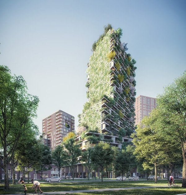 Stefano Boeri Bring Vertical Forest Tower Utrecht'