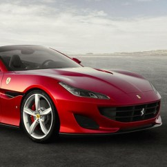 Ferrari Office Chair Navy Blue Wingback Chairs Portofino Convertible Gt Takes Styling Cues From 812 Superfast