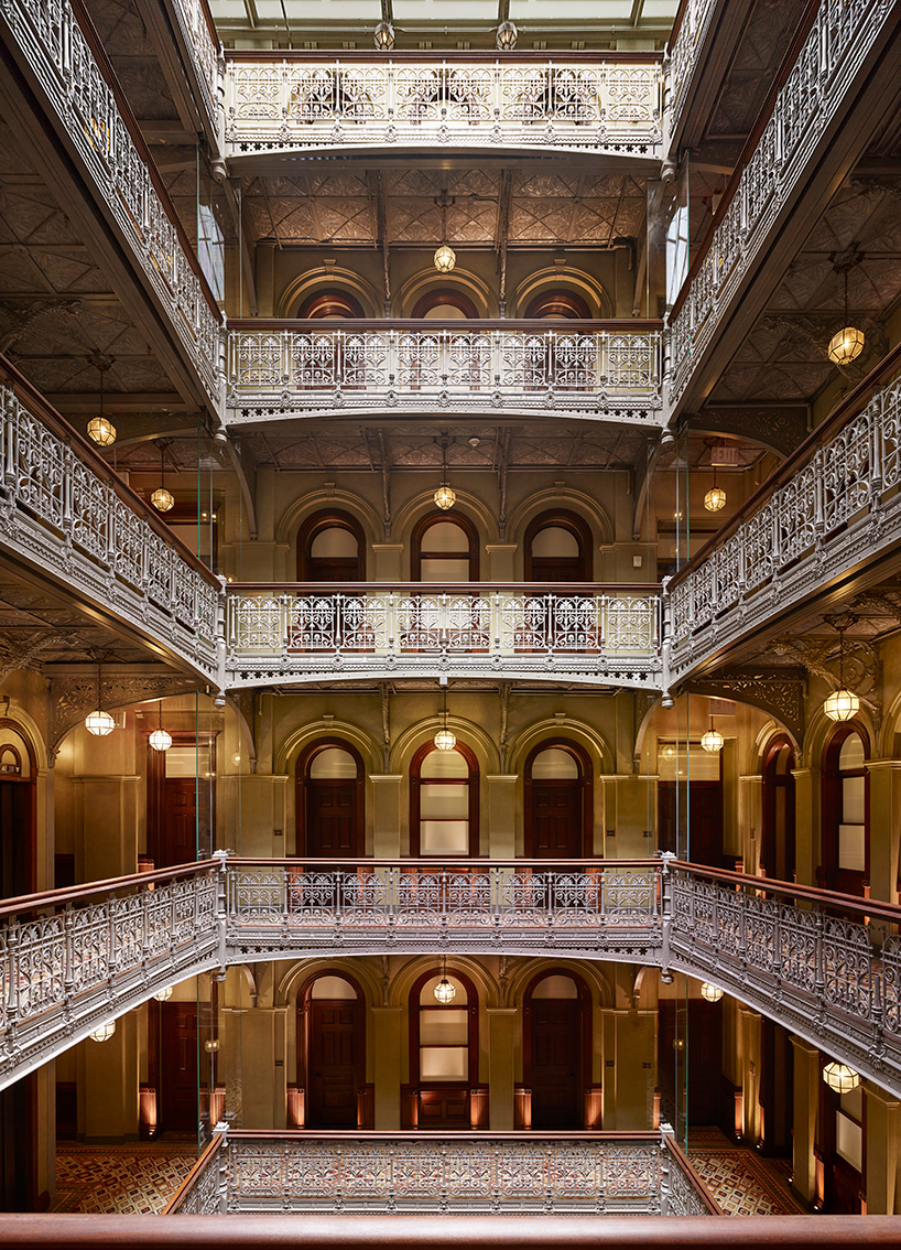 microcosm in manhattan beekman hotel offers highhospitality within an architectural jewel