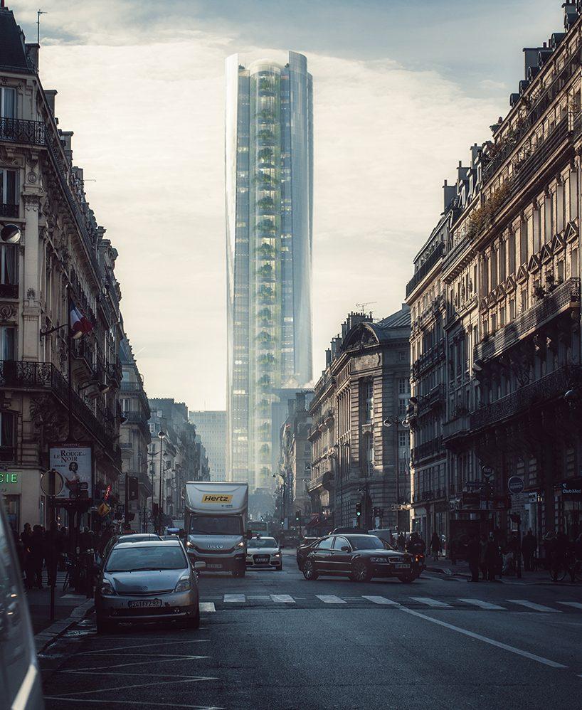 MAD architects proposes to transform paris tour montparnasse