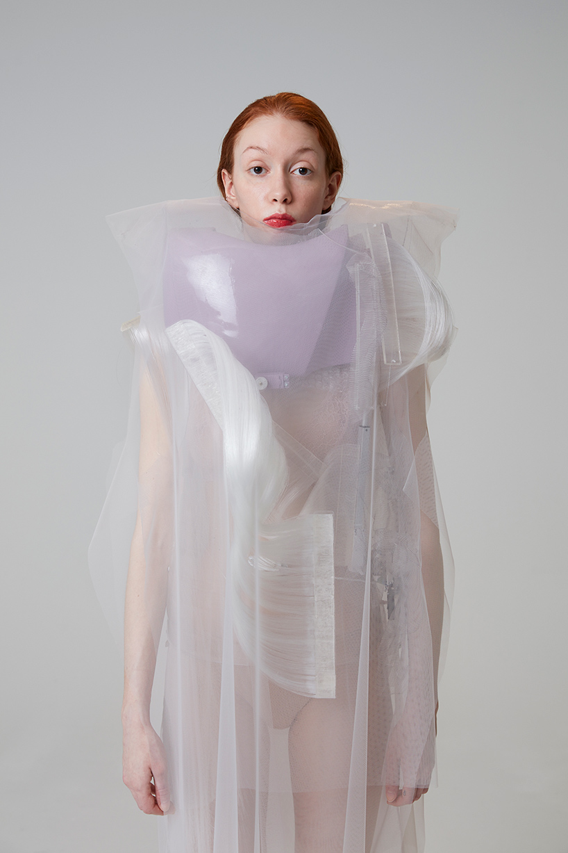 Ying Gao Creates Armors Of Nylon For Possible Tomorrows