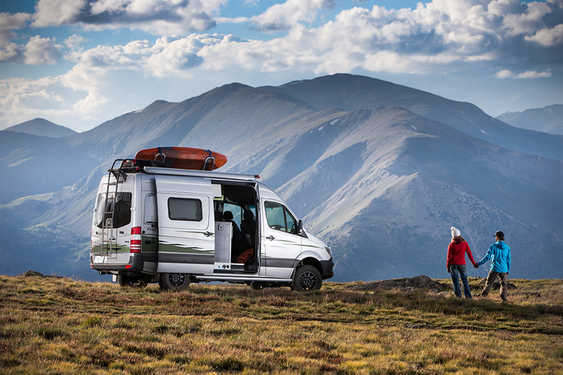 winnebagos mercedesbenz revel 4x4 camper van is built