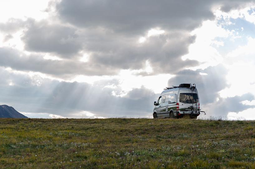 winnebagos mercedesbenz revel 4x4 camper van is built