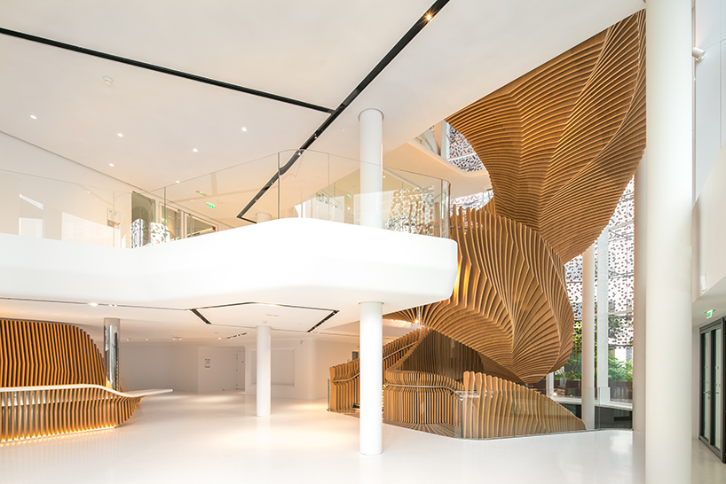 ora ito sculpts parametric staircase for LVMHs media