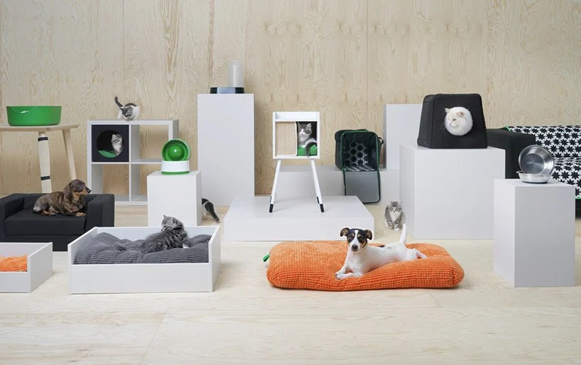 ikea introduces lurvig a collection of furniture and accessories for pets