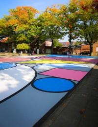 katrien vanderlinden transforms belgian basketball court ...