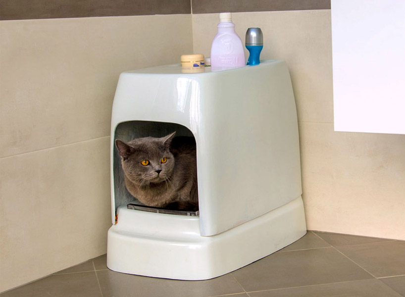 catolet the automatic flushable toilet for cats and small