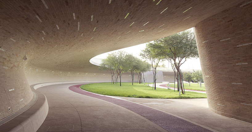 oxygen park in doha qatar helps people get back to nature