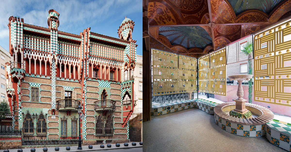 antoni gauds first residential project casa vicens opens to public