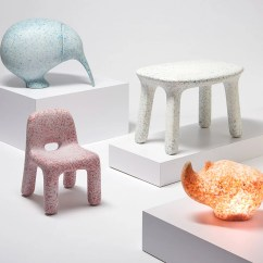 Chair Design Architects Cheap Rocking Nursery Ecobirdy Upcycles Old And Unused Plastic Toys Into Furniture
