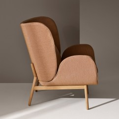 Wooden Chair Cushions Kids Anywhere Norm Architects For Fogia Looks To Nature Form Wingback Companion