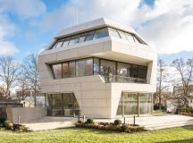 villa m in berlin was designed by GRAFT not palladio