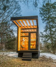 Tiny Prefab Cabin Cases Of Writer' Block Designed