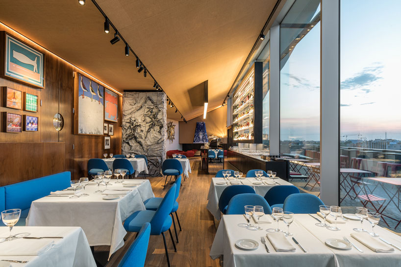 OMAs fondazione prada torre restaurant opens at now completed campus