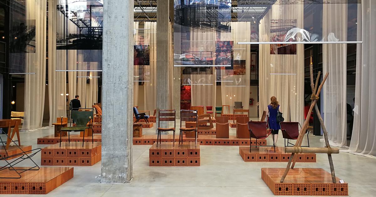 lina bo bardi  design for a new world at nilufar depot in