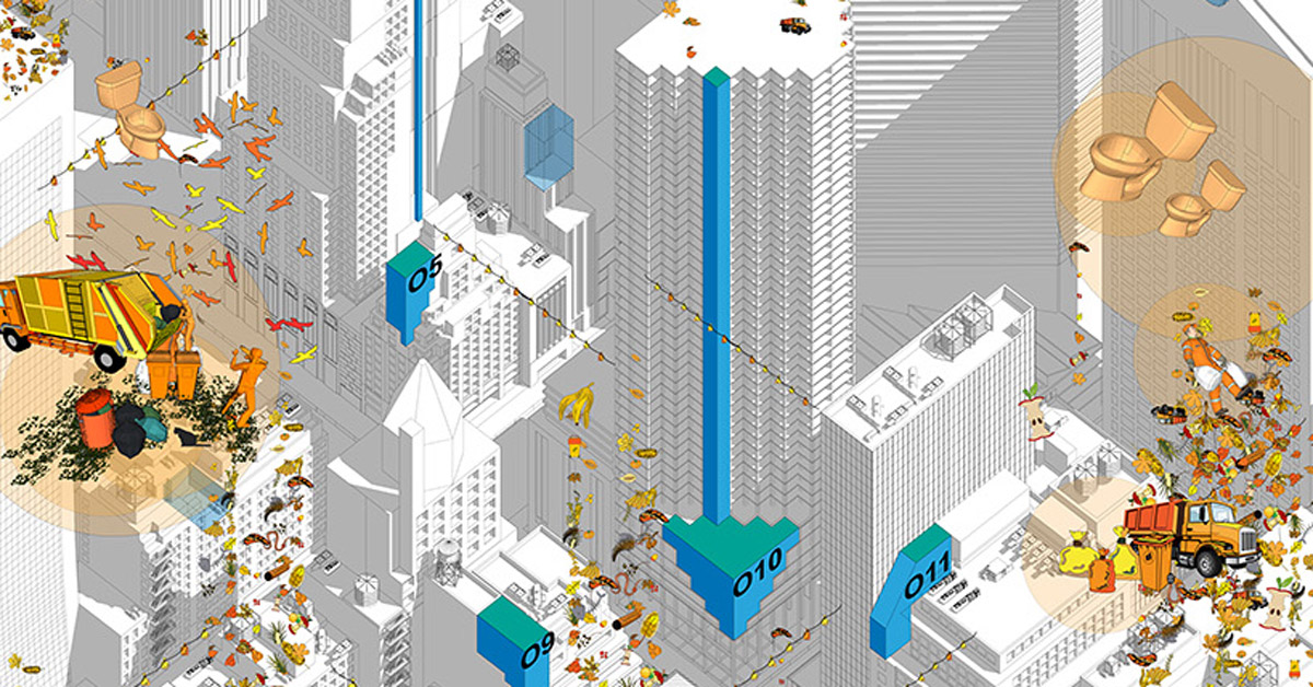 Parasitic Urbanism Towards A New Digestion System