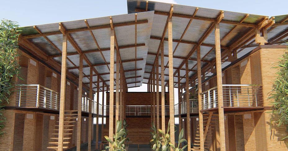 Cubo Is A System Of Modular Bamboo Homes By Earl Patrick