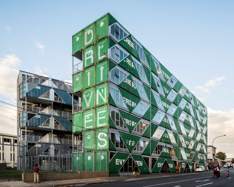 LOTEK uses 140 shipping containers to build drivelines
