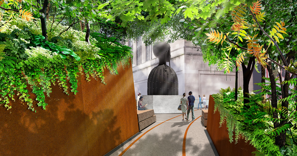 the plinth will be the high lines new destination for public art