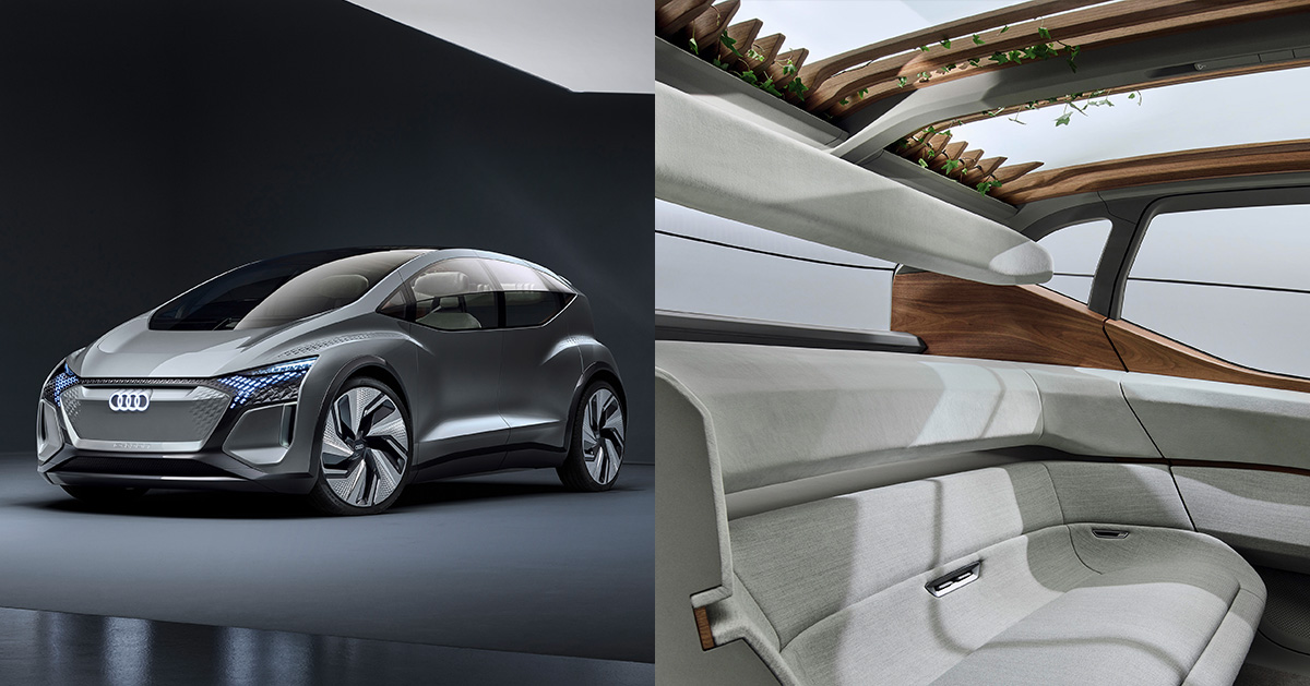 Audi Reveals Ai Me With A Pergola Garden Roof And Living