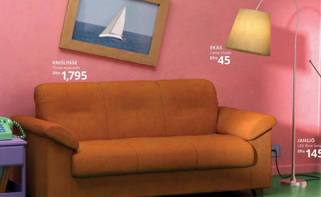 Ikea Recreated The Simpsons Couch Friends Apartment And