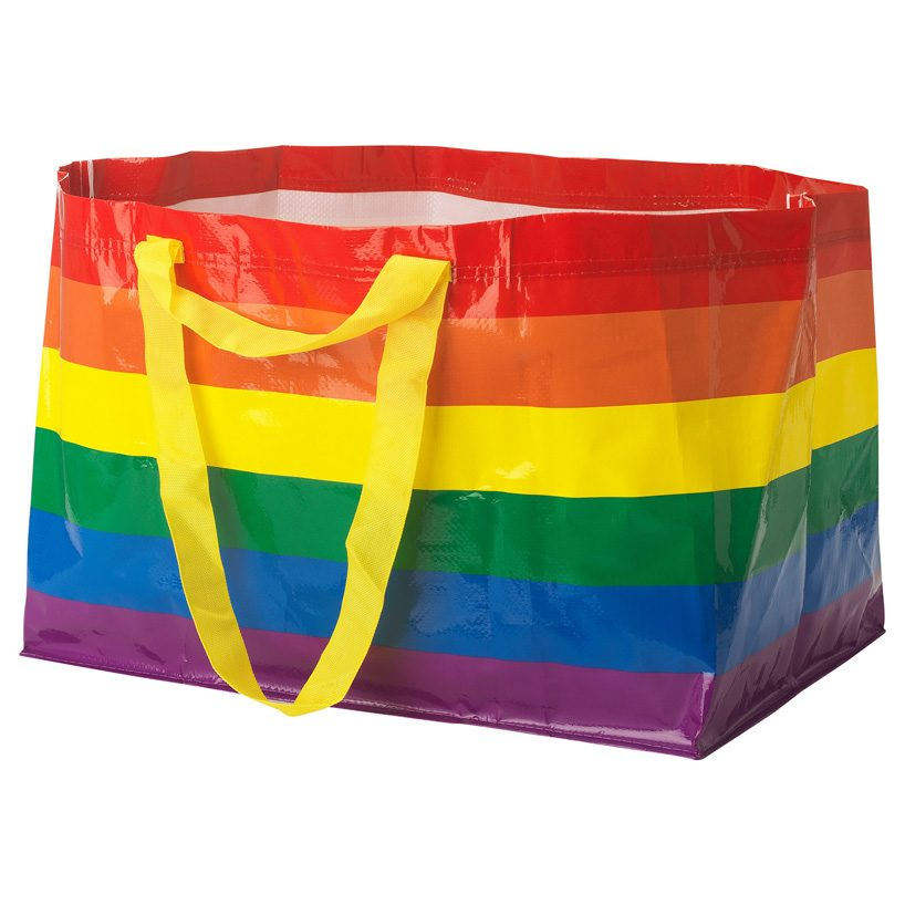 Ikea Releases Limited Edition Rainbow Shopping Bag In