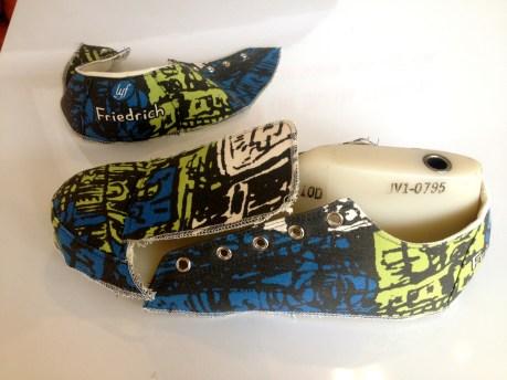 """Hong Kong"" shoes in the making"