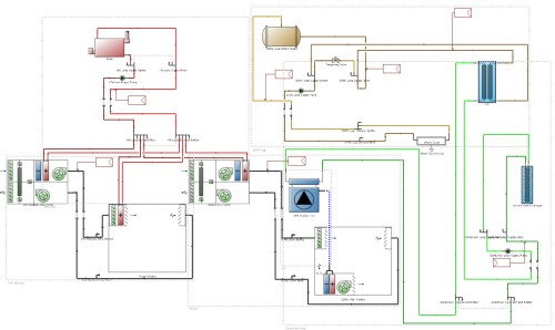 small resolution of the proposed building hvac system