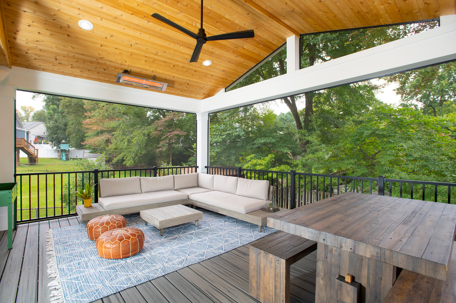return on investment on a screened in porch