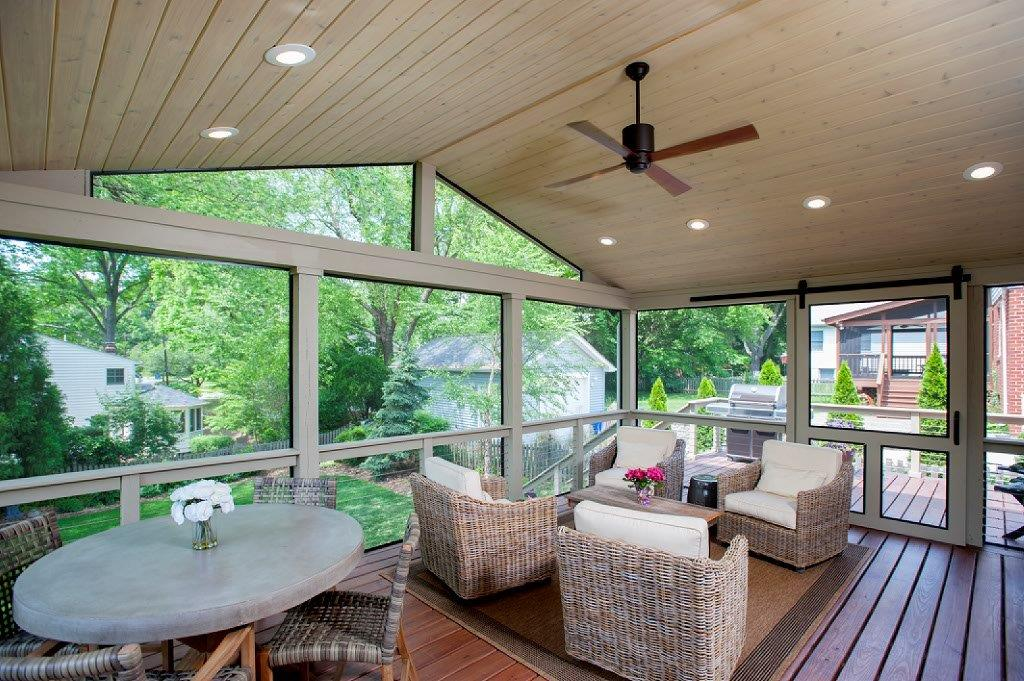 How to Convert a Deck into a Screened Porch