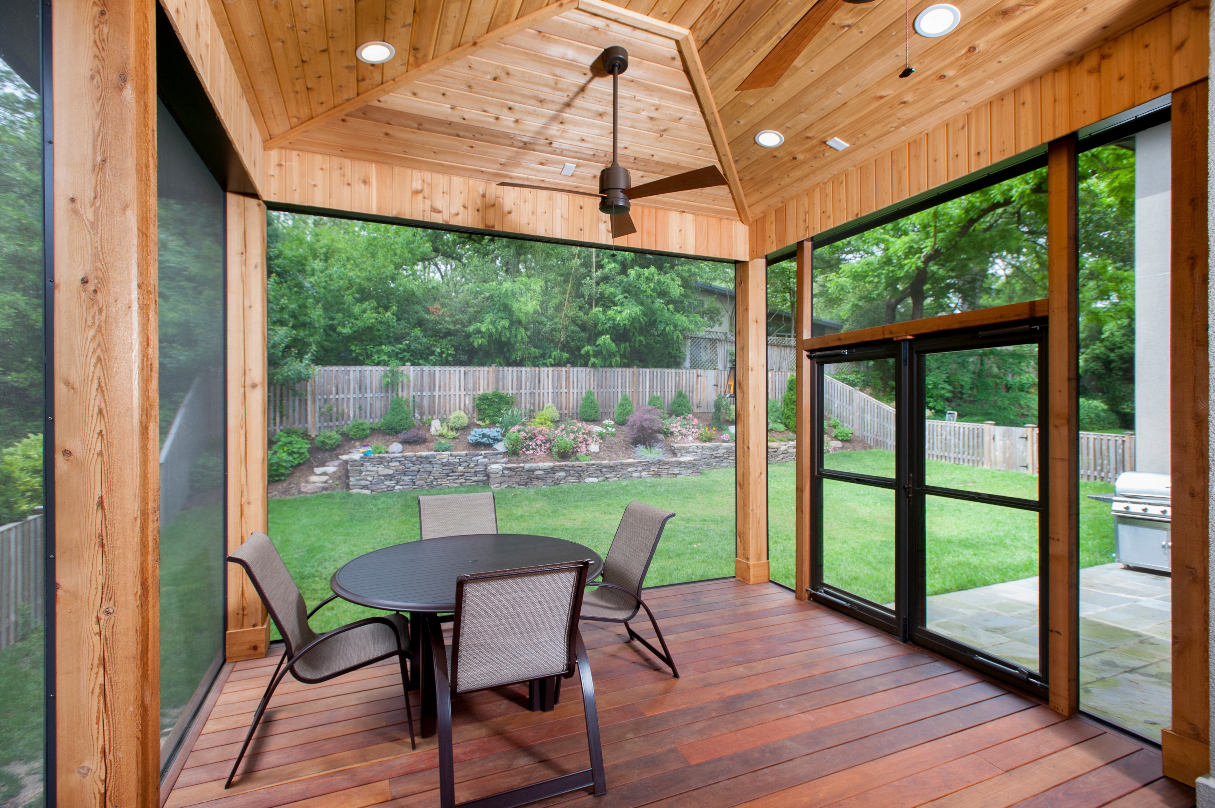 best screened porch screens and deck