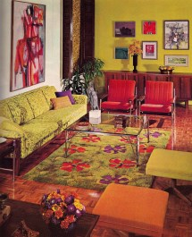Retro 1960s Home Interior Design