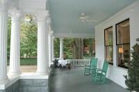 Blue Porch Ceilings - Design Build Planners