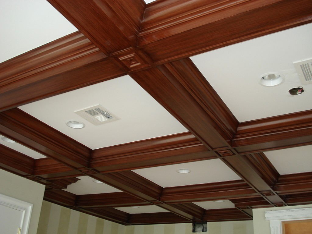 Stunning Coffered Ceiling Plans Ideas