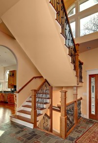 Stair Railing Material Options - Design Build Planners