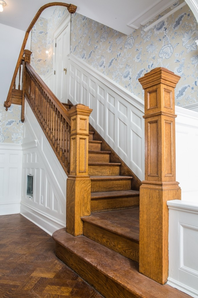 chair rail trim blue and a half recliner what is wainscoting? - design build planners